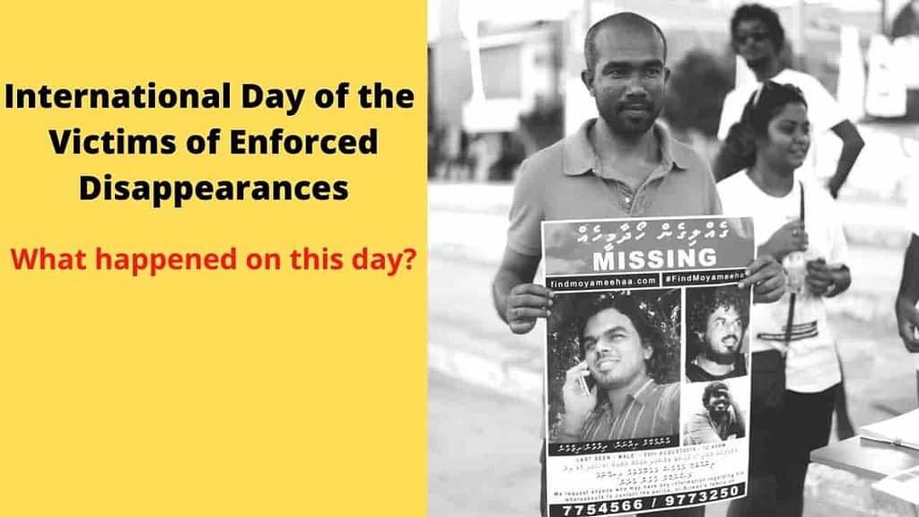 August 30: Know what is the International Day of the Victims of Enforced Disappearances
