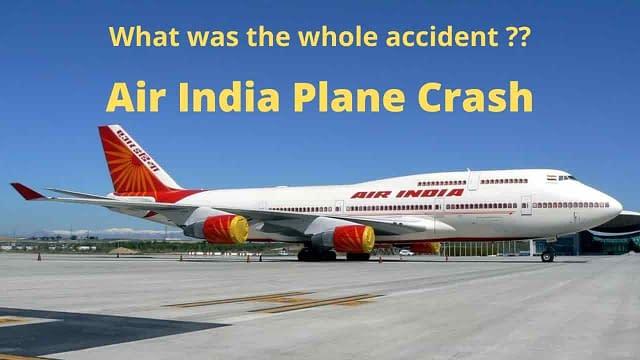 Air India plane crash